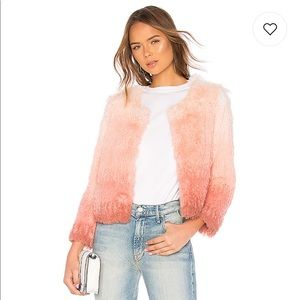 The Faux Fur Boxy Jacket in Rocket In My Pocket